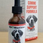 K9 Medibles Canine Support Formula CBD Hemp Oil for Dogs for Pain Relief